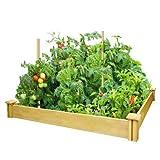 Greenes Fence CO RCMG4S4B 4x4x5.5 Raised Gdn Kit Garden