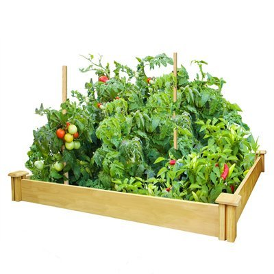 Greenes Fence CO RCMG4S4B 4x4x5.5 Raised Gdn Kit Garden by Greenes Fence