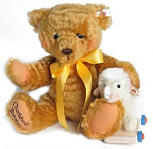 Steiff Cherished Teddies Chelsea Teddy Bear & Lamb