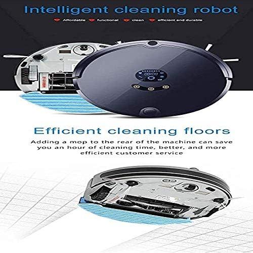 BNMMJ Robot Aspirateur Robot de Balayage Planification Intelligente Aspirateur Application de Téléphone Mobile 3 en 1 Charge Automatique Automatique