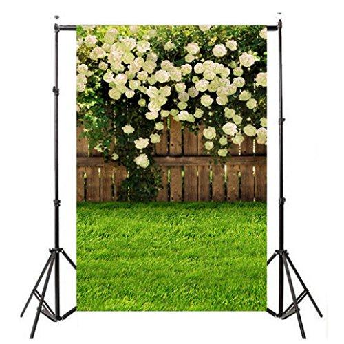 Wensltd Clearance! Vinyl Wood Wall Floor Photography Studio Prop Backdrop Background 3x5FT (F-3)