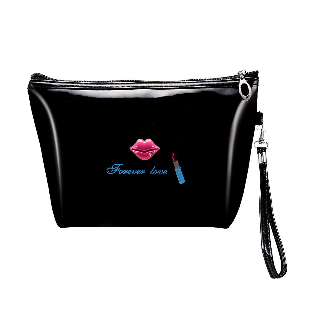4fdc2ad98124 Amazon.com : Forever Love Print Makeup Bags, Gallity Ladies Multi ...