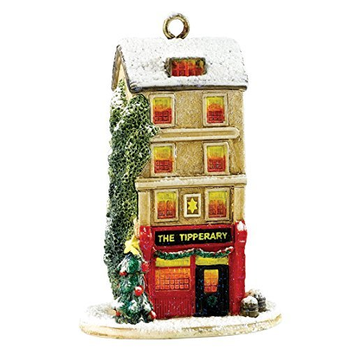Lilliput Lane Christmas Tipple Hanging Ornament Figure by Lilliput Lane - Lilliput Lane Christmas