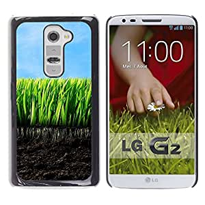 "For LG G2 , S-type Naturaleza Hermosa Forrest Verde 136"" - Arte & diseño plástico duro Fundas Cover Cubre Hard Case Cover"