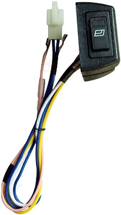 12V Universal Elektrische Fensterheber Umbausatz T/üren Nachr/üsten mit 2 Schalter und 3 Harness