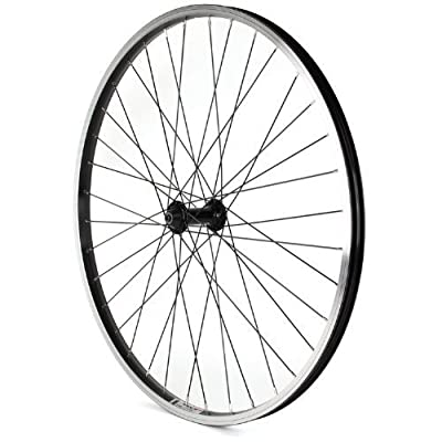 "Sta Tru FW2615QRK Front ALEX/KT 9 Speed Wheel Spokes, 26mm x 1.5"", Black by Pro-Motion Distributing - Direct"