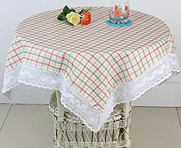 Attractive HSE 80x80 Inch New Style Red Squares Tablecloth Square Tablecloth As  Halloween, Christmas Gift