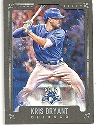 Kris Bryant Framed Green Parallel Special Insert Collectible