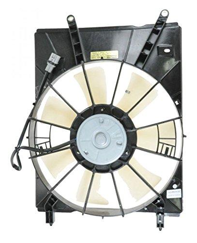 Radiator Cooling Fan Assembly LH Left Driver Side for 98-03 Toyota Sienna (Fan Cooling Motor Side Radiator)
