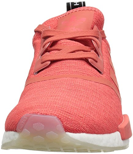 adidas Originals Women's NMD_R1 Running Shoe, Trace Scarlet/White, 5 M US