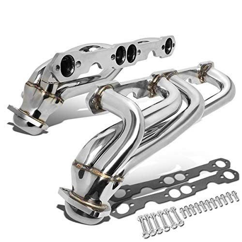 J2 Engineering For 88-99 Chevy/GMC C/K Tahoe/Blazer/Yukon Pair Stainless Steel Shorty Exhaust Manifold Header