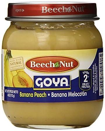 Etapa 2 plátano melocotón Pote, 4 onzas (paquete de 10)
