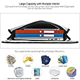 """Vemingo Fireproof Bag 2000 ℉ Waterproof Document Money Bag 15.8"""" x 12.6"""" x 3"""" Non-Itchy Silicone Coated Fireproof Safe Storage for Money, Documents, Jewelry, Passport and Laptop"""