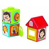 Happy Kid Toy Group Activity Story Blocks