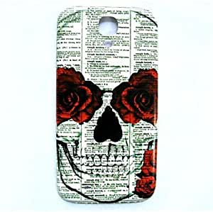 FJM Skull Pattern Thin Hard Case Cover for Samsung Galaxy S4 I9500
