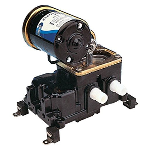 Jabsco 36600 Belt Driven Diaphragm Bilge Pump - 12V Marine , Boating Equipment