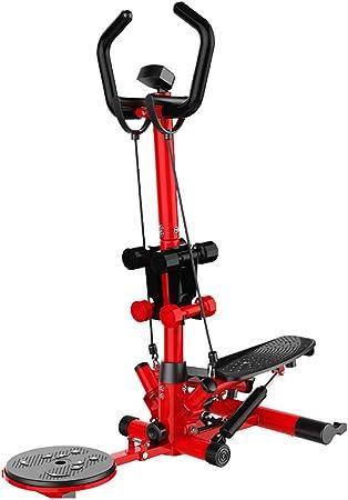 Máquinas de step Equipo de Ejercicios Multifuncional para Adelgazar, máquina de Ejercicios, Equipo de Ejercicios Multifuncional (Color : Red, Size : 38 * 92 * 120cm): Amazon.es: Hogar