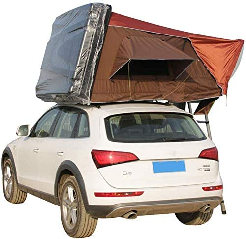 LFDHSF 2-3 Personas Coche Techo Carpa-Techo Acampar Al Aire Libre para automóviles Camiones SUV Acampar Viajar Móvil Acomodación: Amazon.es: Hogar