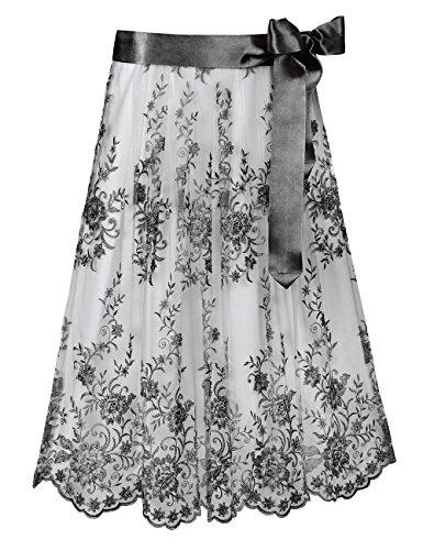 Stockerpoint Damen Dirndlschürze Schürze SC-230, Schwarz (Schwarz), 2 (Herstellergröße: 2-40-44)
