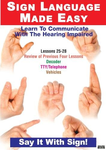 Sign Language Series Lessons 25-28: Decoder Devices