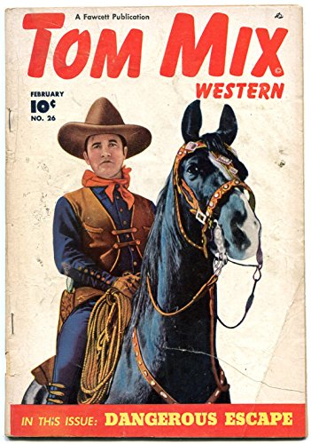 Tom Mix Western #26 (1950 ) with Tony