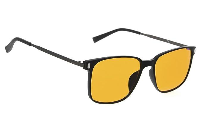 325c0d2c93 Sleep Better Eyeglasses - Blue Blocker Glasses for Computer TV Phone  (Black