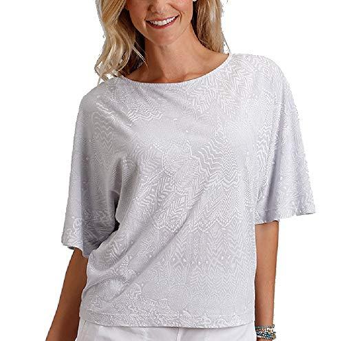 Fresh Produce Women's White Tides Aria Top (X-Large/XX-Large, ()