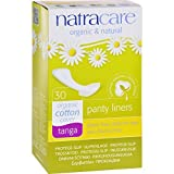 Natracare Natural Organic Thong Style Panty Liners - 30 Pads