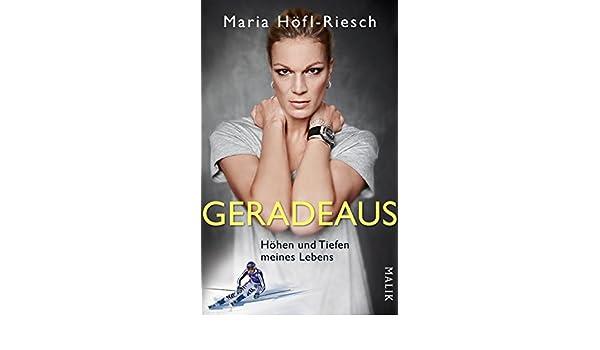Geradeaus: Höhen und Tiefen meines Lebens (German Edition)