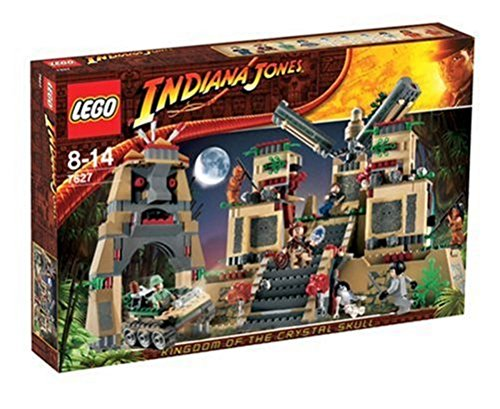Temple of 7627 of LEGO Indiana Jones Crystal Skull (japan import) (Indiana Jones Crystal Temple)