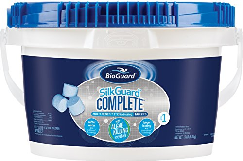 BioGuard SilkGuard Complete 1 Inch Chlorinating Tablets (15 lb)
