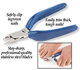 Collections Etc Easy to Grip Giant Toe Nail Clippers by Collections Etc