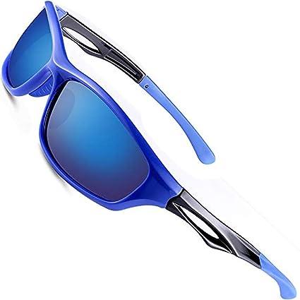 d88f8be8b1d wearpro Sports Polarized Sunglasses for Men Driving Sunglasses Al-Mg Metal  Frame WP1005 … (