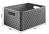 Rotho Country Storage Basket Size A4 18