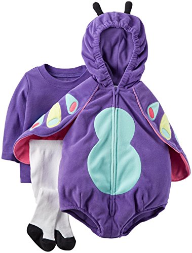 Carter's Baby Girls' Costumes, Purple, 12 Months]()