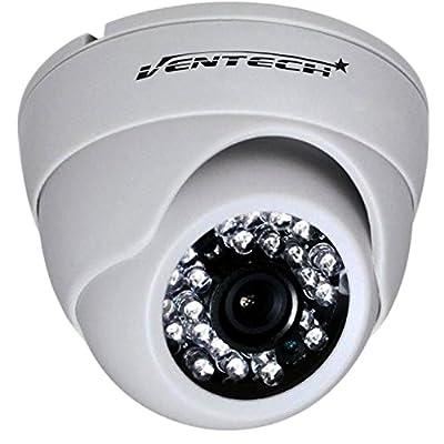 cctv camera by ventech security surveillance ir camera 1000TVL 24 IR LED Day and Infrared IR night Vision cmos 960h 12v Dome Camera Home ir Security cam Wide Angel 3.6mm audio from VENTECH SECURITY