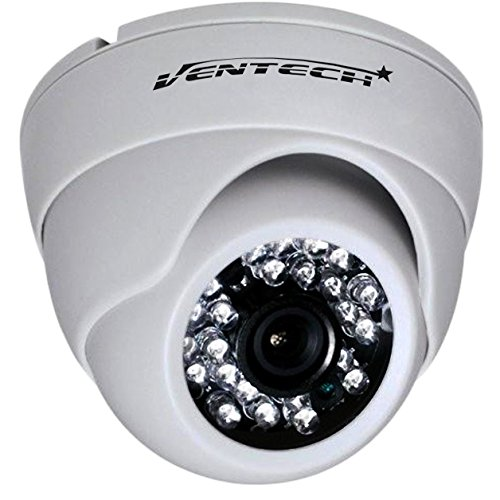 cctv camera by ventech security surveillance ir camera 1000TVL 24 IR LED Day and Infrared IR night Vision cmos 960h 12v Dome Camera Home ir Security cam Wide Angel 3.6mm audio