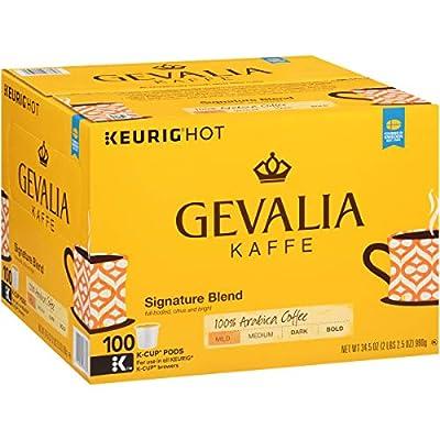 Gevalia Signature Blend Keurig K Cup Coffee Pods (100 Count) by KraftHeinz