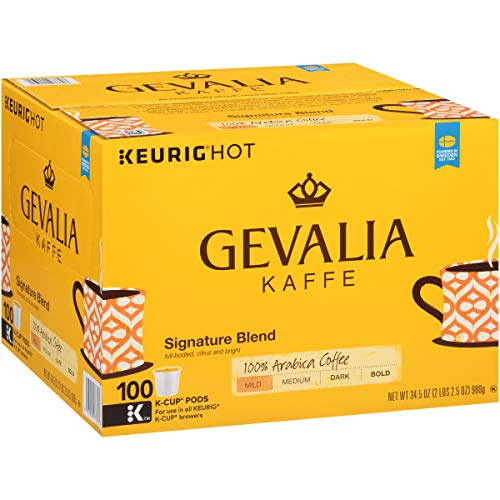 Gevalia Signature Blend Keurig K Cup Coffee Pods (100 -