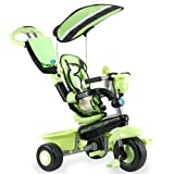 Smart Trike 1560811 Deluxe Baby to Toddler Tricycle - Green