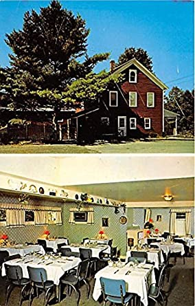 Old Homestead Restaurant Bridgeville New York Postcard At