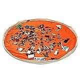 LEADSTAR Kinder Spielmatte Aufräumsack Spieldecke Spielzeug Speicher Tasche 150cm Segeltuch...