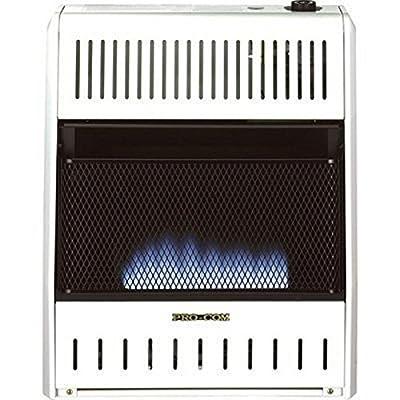 ProCom MNSD200TBA Dual Fuel Blue Flame Vent Less Wall Heater
