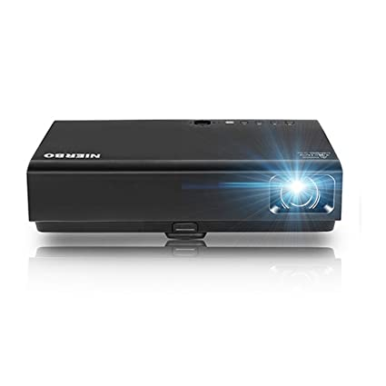 Proyector LED Mini HD proyector, nierbo 3D-DLP Proyector 3500 ...