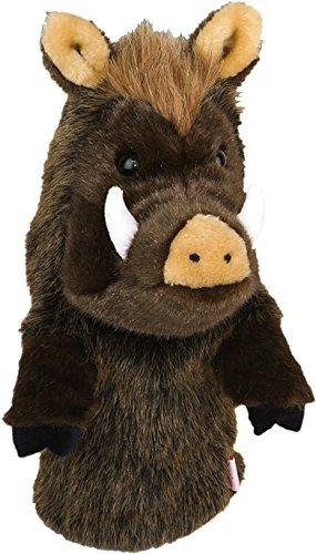 Over-Sized Pumbaa Wild Boar Hog Pig Golf Club Head Cover Daphne Headcovers Oversize Headcovers