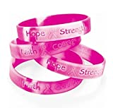 Fun Express Breast Cancer Awareness Bracelets фото