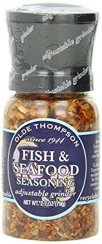 Olde Thompson 1040-15 Disposable Spice Grinder, 2.7 Ounce Fish and Seafood Seasoning