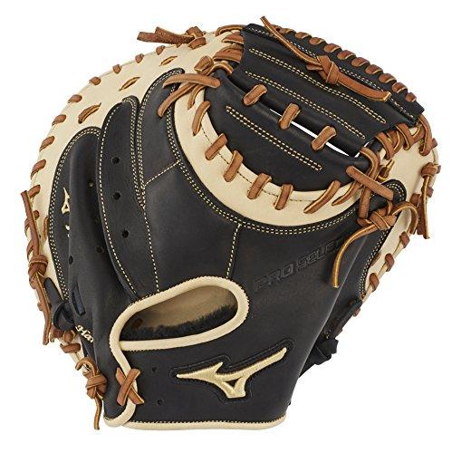 Mizuno Pro Catchers - Mizuno GPS1BK-335C Pro Select Baseball Catcher's Mitts, 33.5