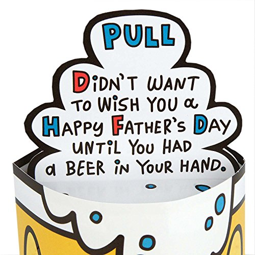 Hallmark Funny Father's Day Greeting Card (Pop-Up Beer Stein) Photo #6