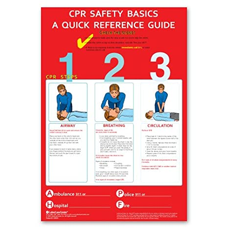 picture regarding Cpr Posters Free Printable identify CPR Poster - Laminated